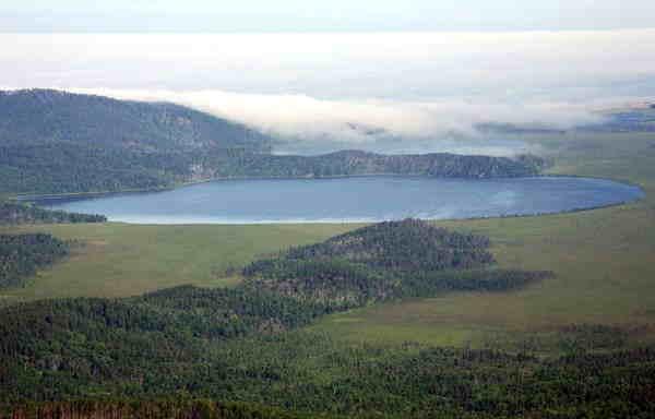 озеро Духовое у Максимихи