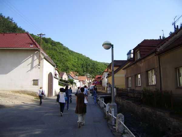 дорога в Карлштейн