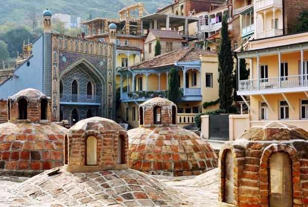 тбилиси достопримечательности бани