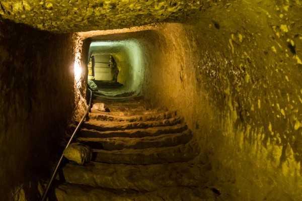 чуфут кале пещерный