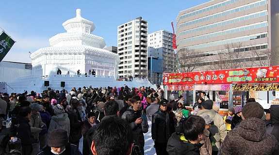 Приятные воспоминания о снежном фестивале в Саппоро. Япония