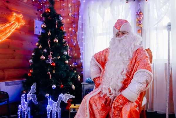 Дед Мороз прибыл в город Чебоксары