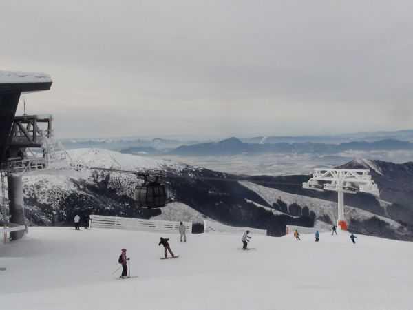 Зимняя сказка в Словакии. Курорт Ясна