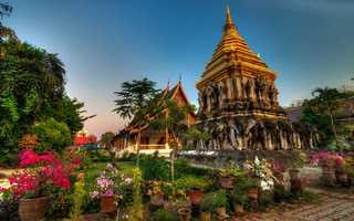 Тайланд, храм