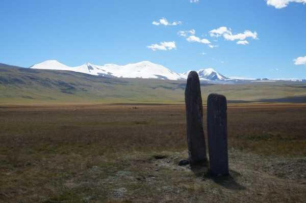Древние стелы плато Укок