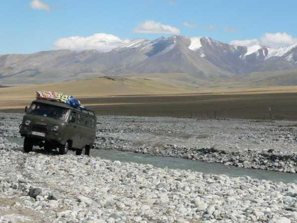 Непростая дорога на плато Укок