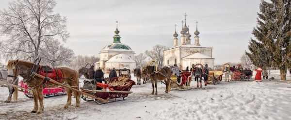 Новогодние каникулы в Суздале