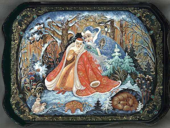сказы бажова в иллюстрациях художников Палеха