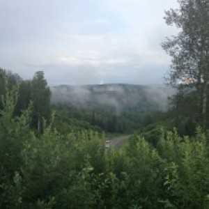 Шерегеш, Кемеровская область (летняя сторона горнолыжного курорта)