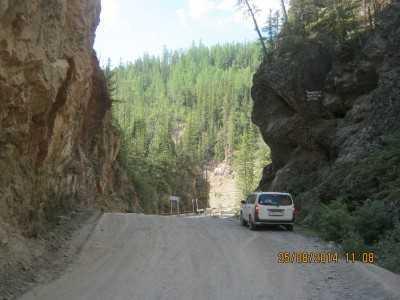 дорога на Чулушман