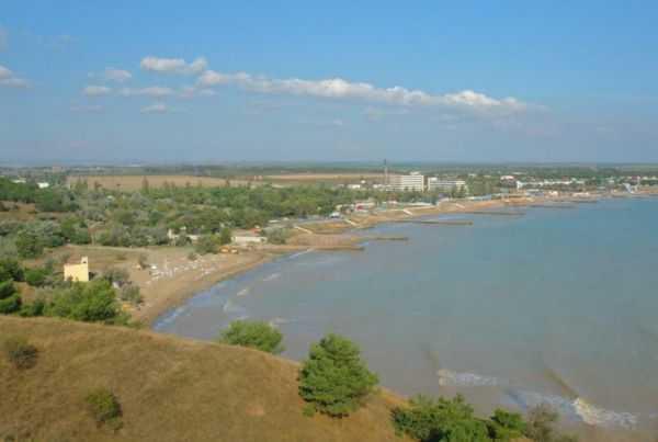 поселок песочное крым