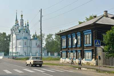 город Енисейск
