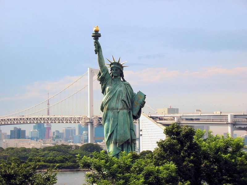 Токио Статуя Свободы