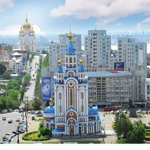 Моя поездка в Сибирь. Город Хабаровск
