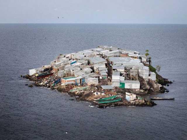 остров рыбаков