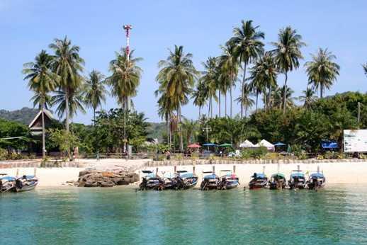 остров пхи пхи Тонсай