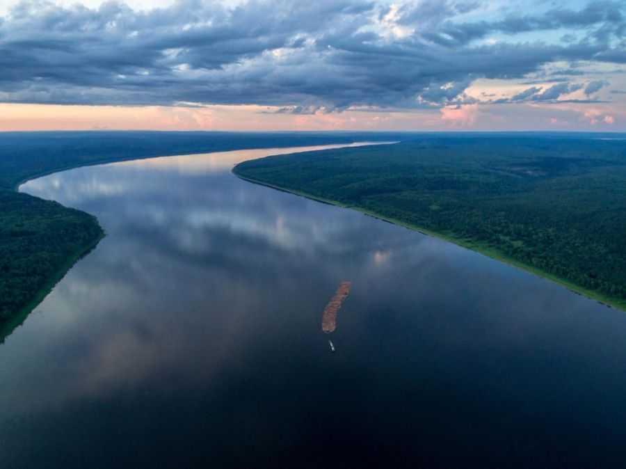 река ангара фото