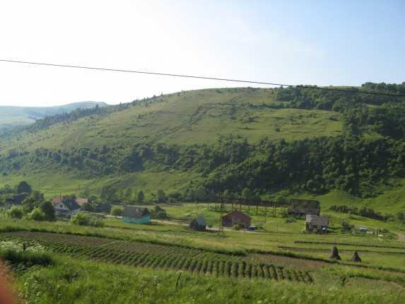 Дорога к Мукачево
