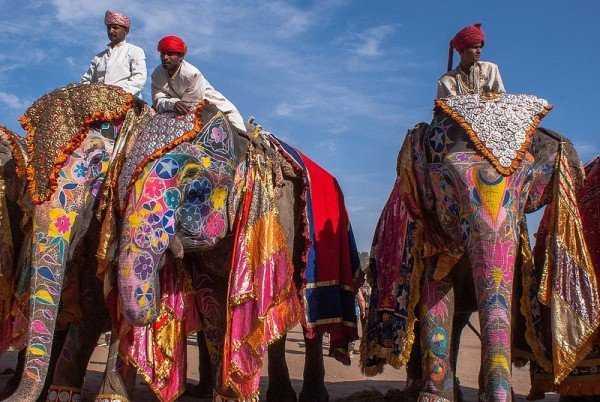 онлайн путешествие в Индию