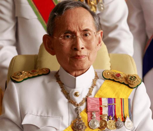 Умер Король Тайланда