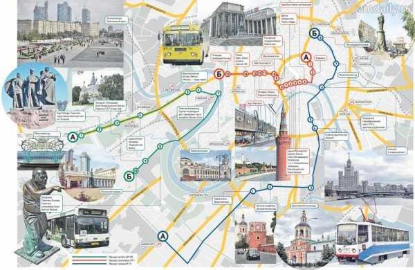 Обзорная поездка по Москве