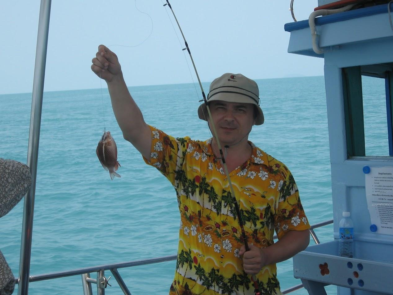 дневная рыбалка на Самуи