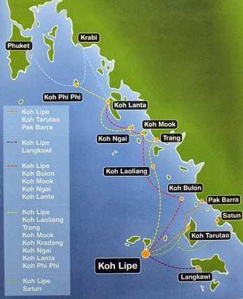 остров ко липе в тайланде как добраться