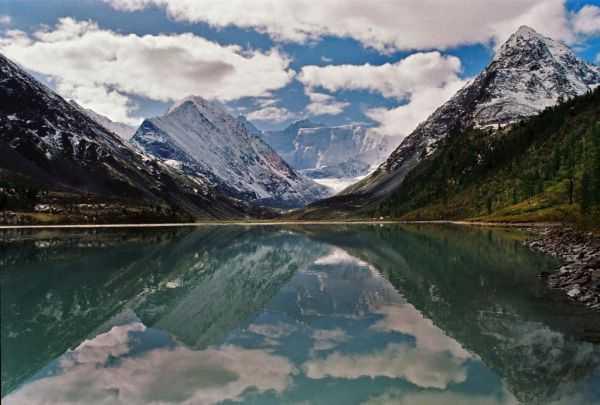 Алтай. Аккемское озеро. Как добраться и что посмотреть