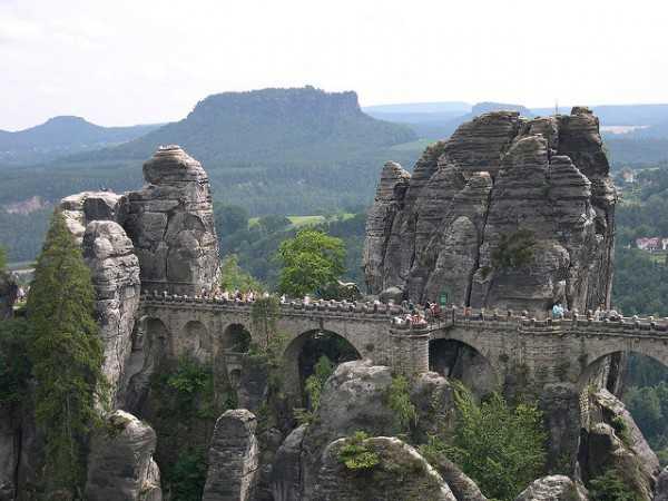 Видео отчет. Германия, Саксонская Швейцария — Бастай