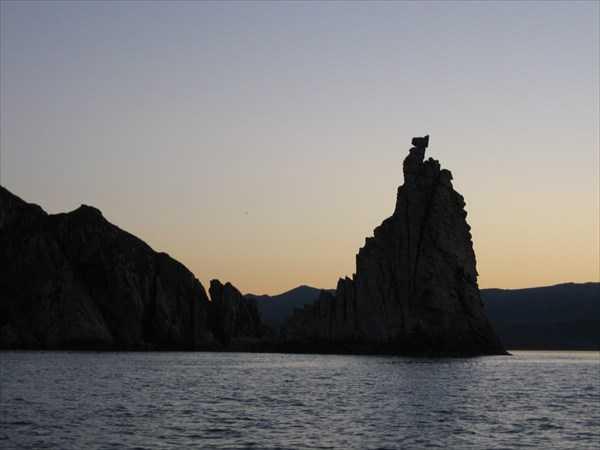 Амурский лиман западный берег
