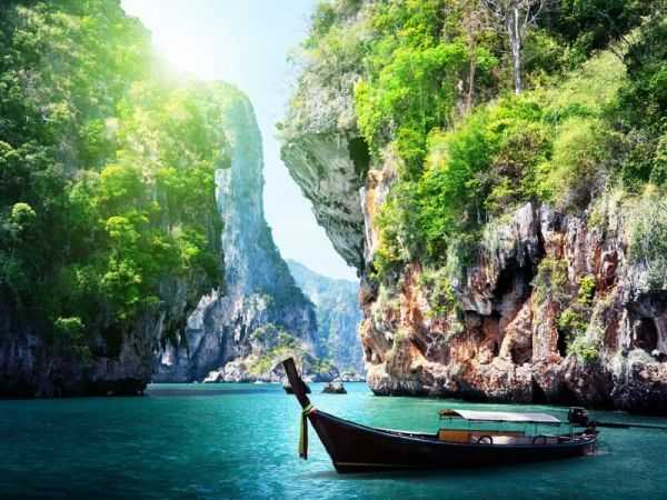 на островах Тайланда