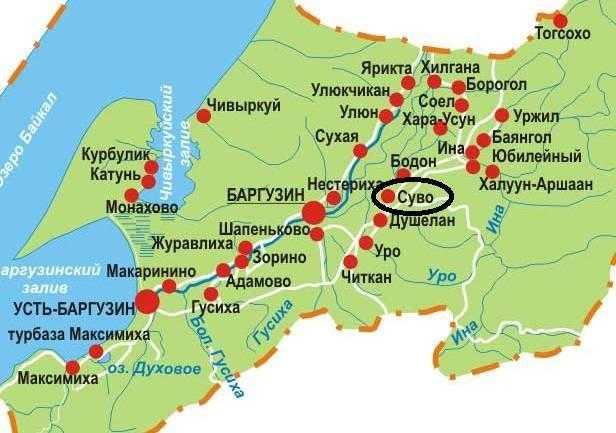 Байкал село Суво