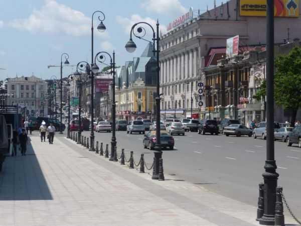 улица Светланская во Владивостоке