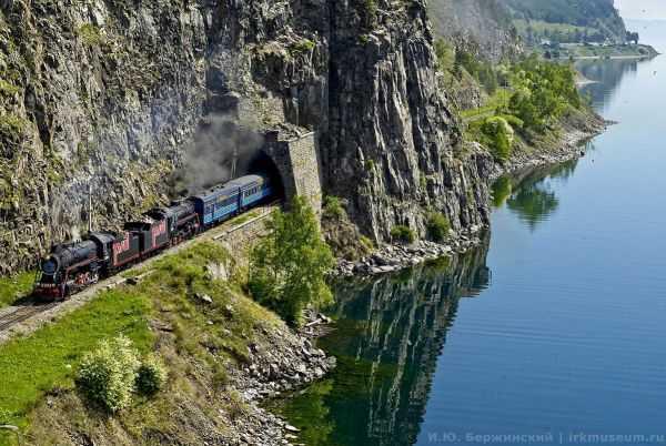 КБЖД - красивейшаяв мире железная дорога