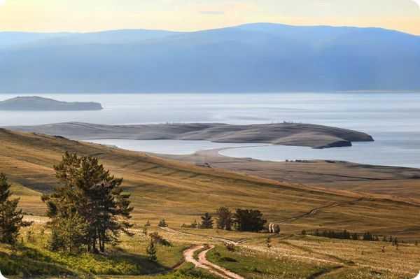 Озеро Ханхой ольхон