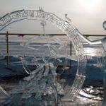 Фестиваль ледовых скульптур «Живи на Байкале» в Листвянке