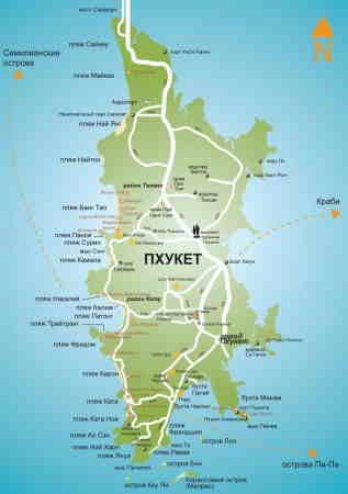 Karta Phuket.Karta Phuket
