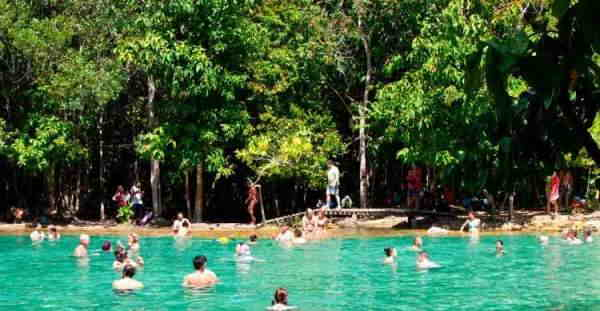 Са Моракот - изумрудное озеро в Краби