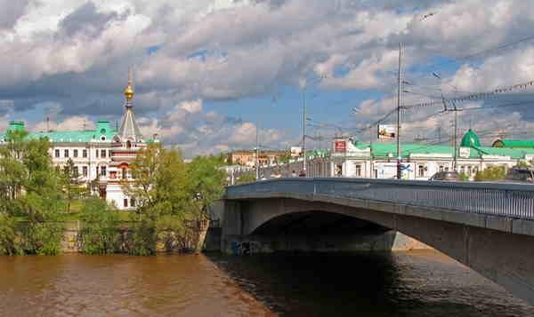 вебкамера на Юбилейном мосту в Омске