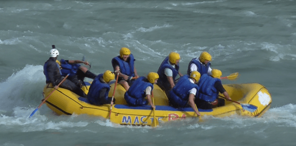 Экстремальный сплав по реке Катунь