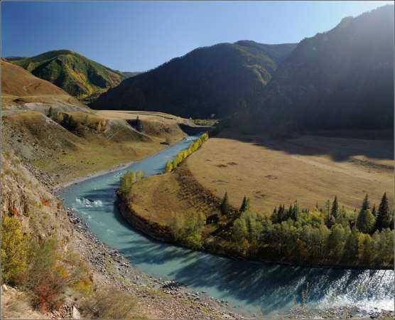 Гордость Алтая – река Чуя