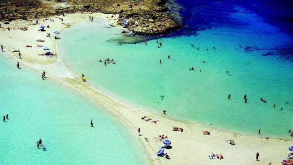 Пляж Нисси Бич – украшение Айя-Напы на Кипре