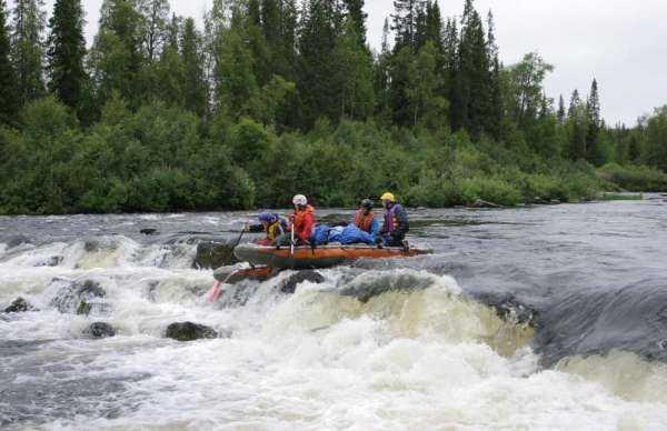 Река Серга, сплав