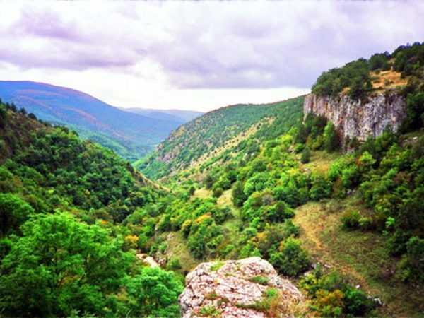 Река Узунджа, Крым. Поход по горам вдоль Узунджи