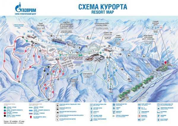 курорт Газпром