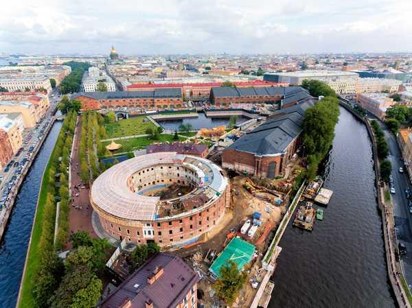 Новая Голландия в Санкт-Петербурге: от корабельного склада к культурному центру
