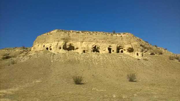 Сабере, монастырь в пустыне Гареджа в Грузии