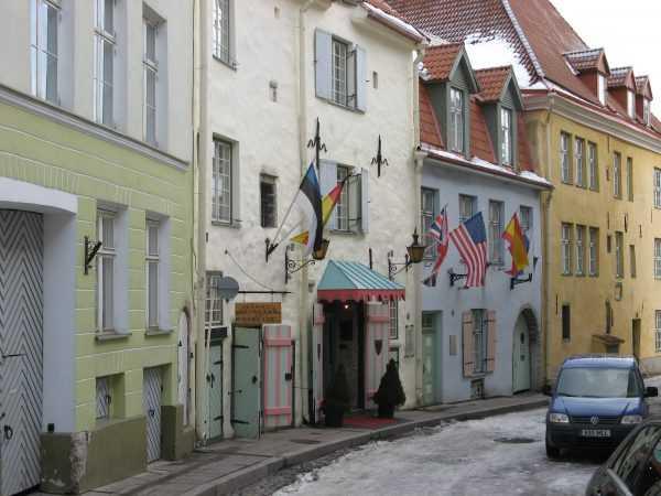 Таллин. Город-сказка