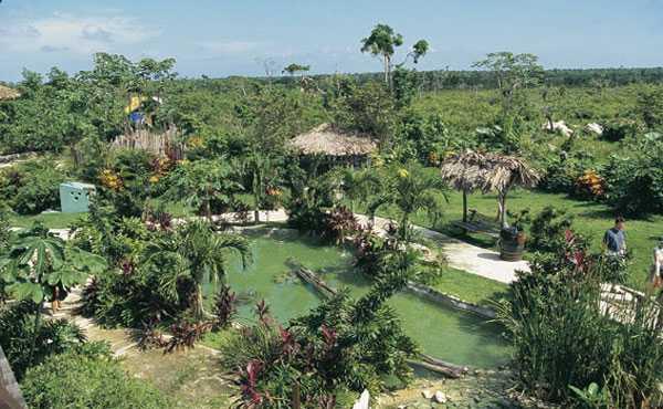 Парк Манати Баваро в Пунта-Кана, Доминикана
