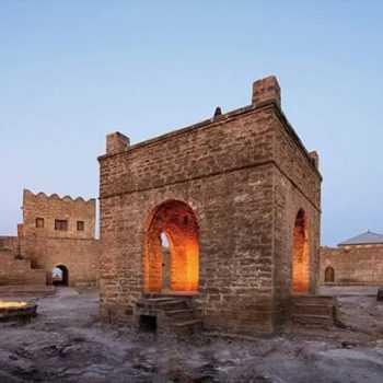 АТЕЩГЯХ - зороастрийский храм огня в Баку